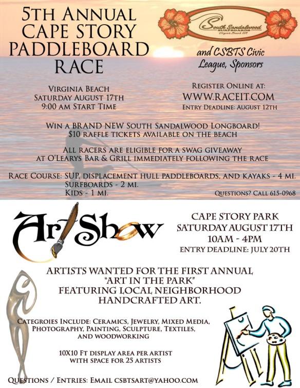 PB Race and Art Show
